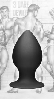 TOM OF FINLAND ANAL PLUG MEDIUM SILICONE