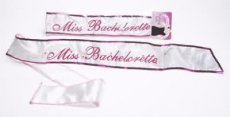 MISS BACHELORETTE FLASHING SASH