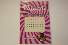VAJAZZLE MULTI COLORED CRYSTALS (NET)