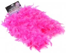 NIGHT TO REMEMBER PINK FEATHER BOA