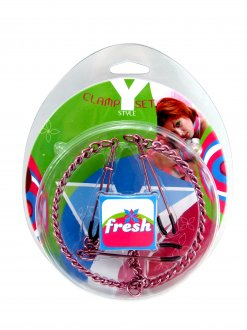 (WD) FRESH NIPPLE CLAMP Y STYL TWEEZERS PINK