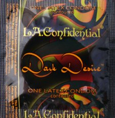 L.A. CONFIDENTAL DARK DESIRE 12PK LATEX CONDOMS