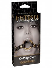 FETISH FANTASY GOLD O RING GAG