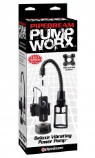 PUMP WORX DELUXE VIBRATING POWER PUMP