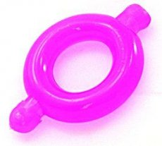 (WD) FRESH COCK RING ELASTOMER SMALL PINK (WD)