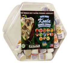 KOALA ASSORTED FLAVORED LUBE 78PC BOWL