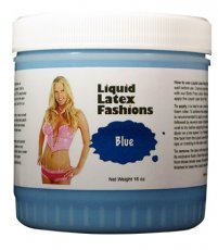 LIQUID LATEX SOLID BLUE 16OZ