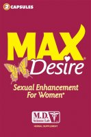 MAX DESIRE 2 PACK SOLD BY EACHES
