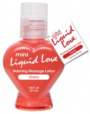 MINI LIQUID LOVE WARMING MASSAGE LOTION 1.25 OZ CHERRY