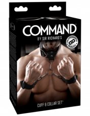SIR RICHARD'S COMMAND CUFF & COLLAR SET