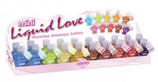 MINI LIQUID LOVE WARMING MASSAGE LOTION DISPLAY 20PC