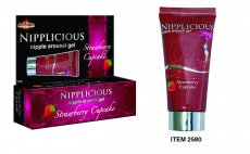 NIPPLICIOUS STRAWBERRY CUPCAKE 1 OZ