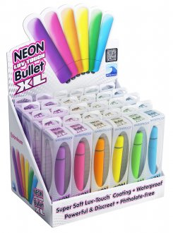 NEON LUV TOUCH BULLET 24PC DISPLAY