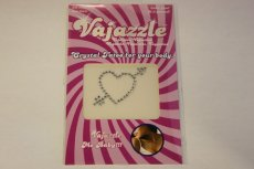 VAJAZZLE HEART W/ARROW (NET)