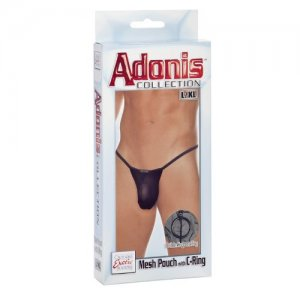 (WD) ADONIS MESH POUCH W/C RIN L/XL