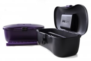 JOYBOXX BLACK + PLAYTRAY WITH PURPLE SLIDER (NET)