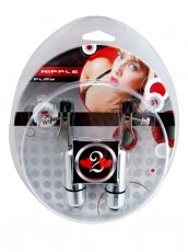 (WD) H2H NIPPLE CLAMPS ALLIGAT BULLET CHROME