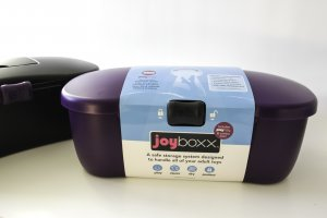 JOYBOXX PURPLE + PLAYTRAY WITH BLACK SLIDER (NET)(out May)