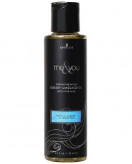 ME & YOU MASSAGE OIL VANILLA SUGAR.SWEET PEA