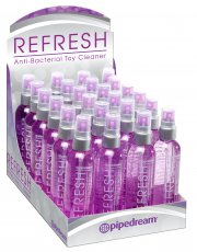 REFRESH DISPLAY 24PC TOY CLEANER 4OZ