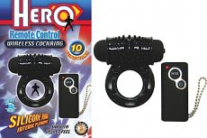 HERO REMOTE WIRELESS COCKRING BLACK