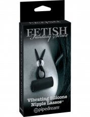 FETISH FANTASY LIMITED EDITION VIBRATING SILICONE NIPP