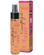 CRAZY GIRL WANNA BE AROUSED ORAL SEX GEL CARAMEL KISS 2.2 OZ