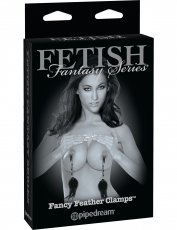 FETISH FANTASY LIMITED EDITION FANCY FEATHER CLAMPS