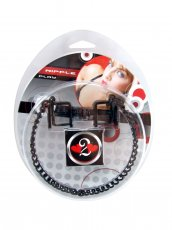 H2H NIPPLE CLAMP PRESS W/CHAIN BLACK