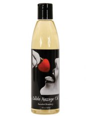 MASSAGE OIL EDIBLE STRAWBERRY 8 OZ