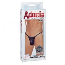 ADONIS MESH POUCH W/C RING L/XL