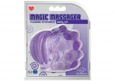 TLC MAGIC MASSAGER PLEASURE ATTACHMENT SWIRL/LIP