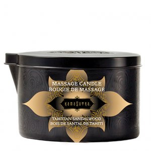 MASSAGE CANDLE TAHITIAN SANDLEWOOD (NET)