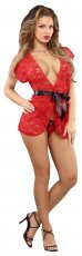 WRAP & G-STRING RED L/XL (LUV LACE)