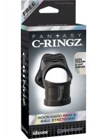 FANTASY C-RINGZ ROCK HARD RING & BALL STRETCHER