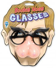 PHONY FACE BOOBIE NOSE GLASSES