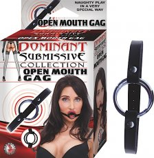 (WD) DOMINANT SUBMISSIVE OPEN GAG