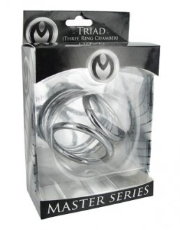 MASTER SERIES TRIAD LARGE 2IN TRIPLE COCK CAGE