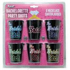 BACHELORETTE PARTY SHOT GLASS NECKLACE