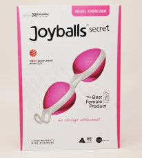 (WD) JOYBALLS SECRET ROSE/WHIT