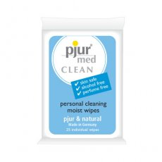 PJUR MED CLEAN 25 PACK EA.