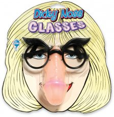PHONY FACE PECKER GLASSES