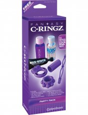 FANTASY C-RINGZ PARTY PACK PURPLE