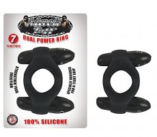 MACK TUFF DUAL POWER RINGS BLACK