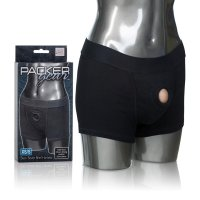 PACKER GEAR BLACK BOXER HARNESS XS/S