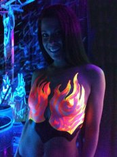 LIQUID LATEX BLACK LIGHT KIT