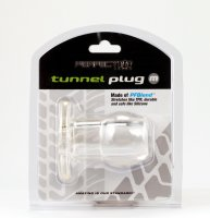 PERFECT FIT TOY TUNNEL PLUG MED ICE CLEAR