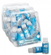 MOIST PERSONAL LUBRICANT 1OZ(48 PC BOWL)