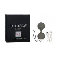EMBRACE LOVE BALLS GREY
