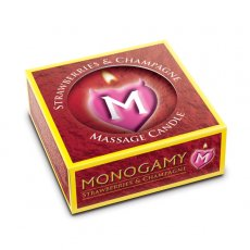 MONOGAMY MASSAGE CANDLE STRAWBERRY
